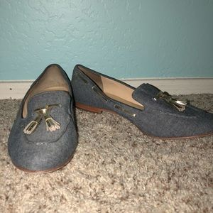 Adorable Cole Haan denim chambray size 9 flats